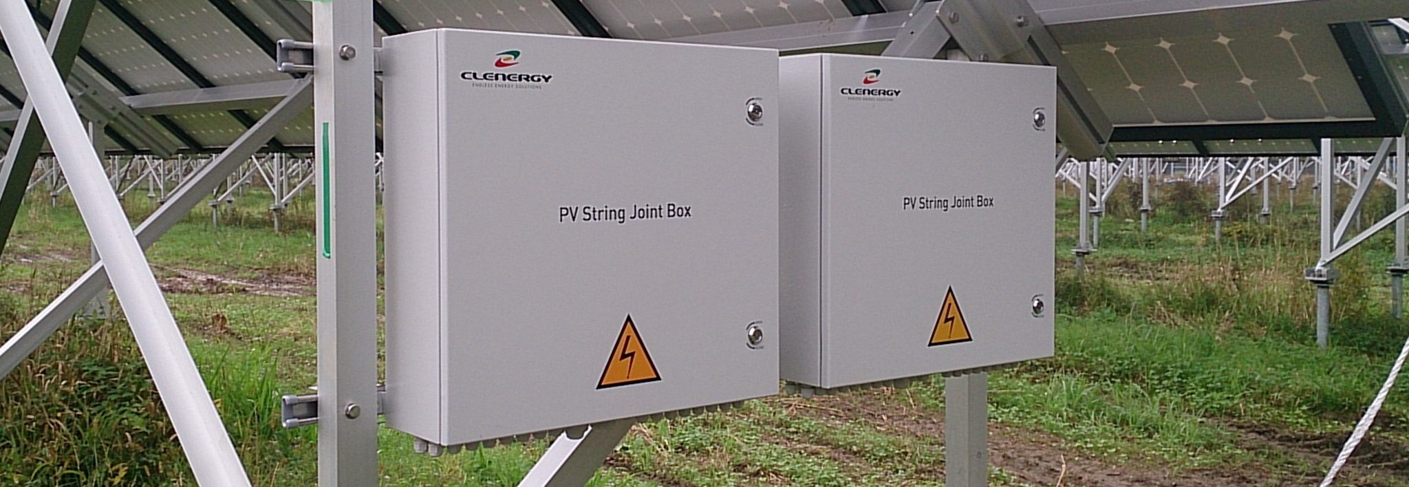 Clenergy Ground-mount PV String Joint Box PV Project in Kanegasaki