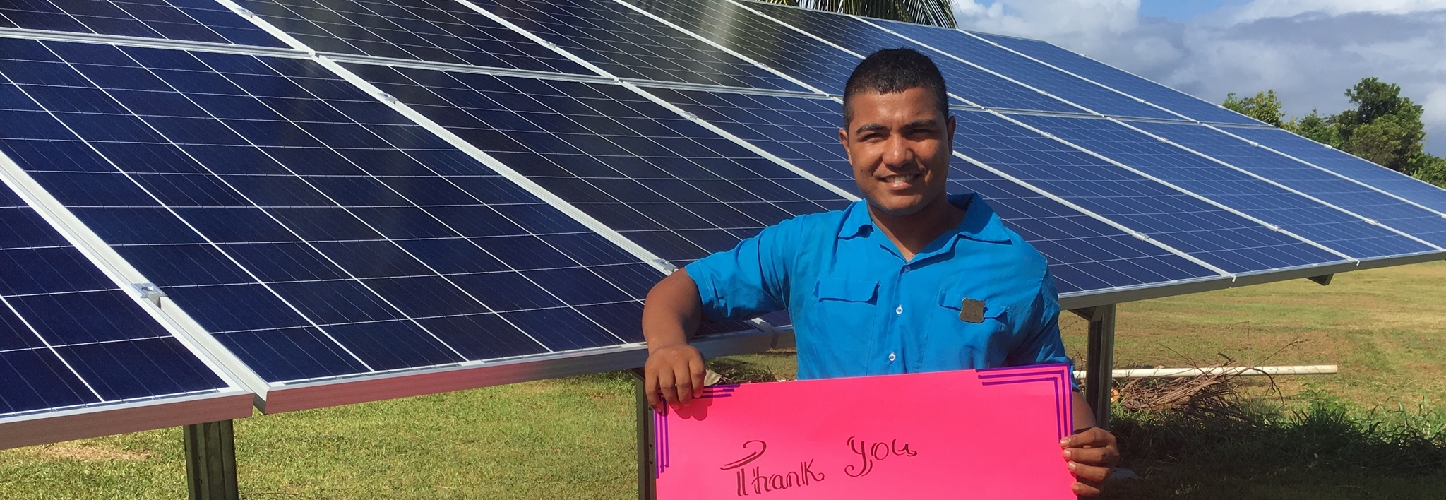 Clenergy PV-ezRack Mounting Systems Installed in School Buildings in Remote Fiji 2018