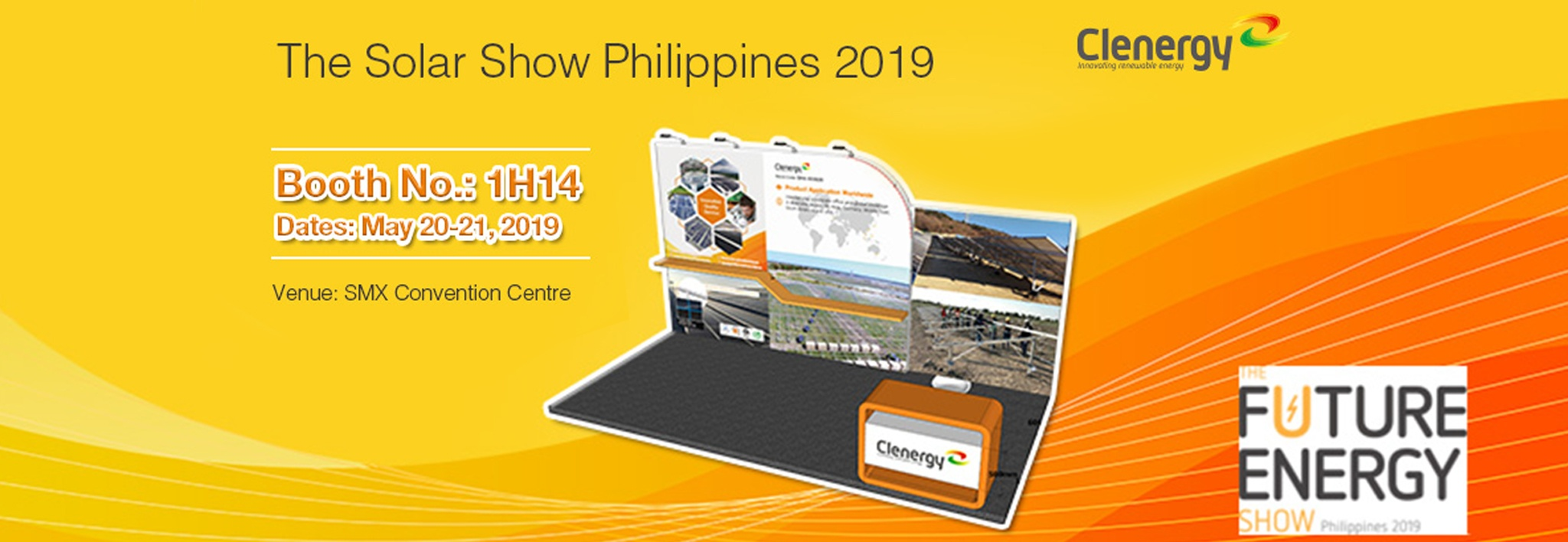 Clenergy at the Solar Show Philippines 2019 Invitation Letter