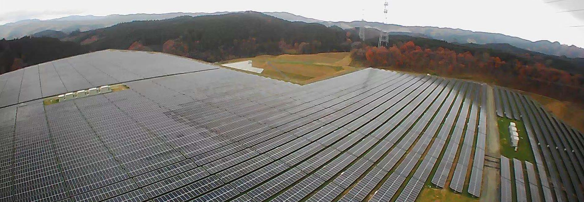 Clenergy Ground-mount PV-ezRack SolarTerrace II-A 18MW Solar Park in Japan