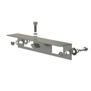 AB-SR IS 260 Angle Bracket for Isolator Shade, 260 mm Length