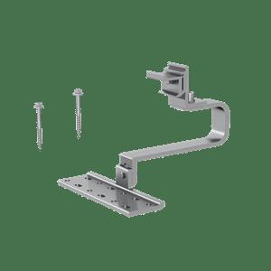 Adjustable Tile Interface ezclick Connection for ECO-Rail, 170 mm Horizontal Arm ER-I-61 EZC ECO