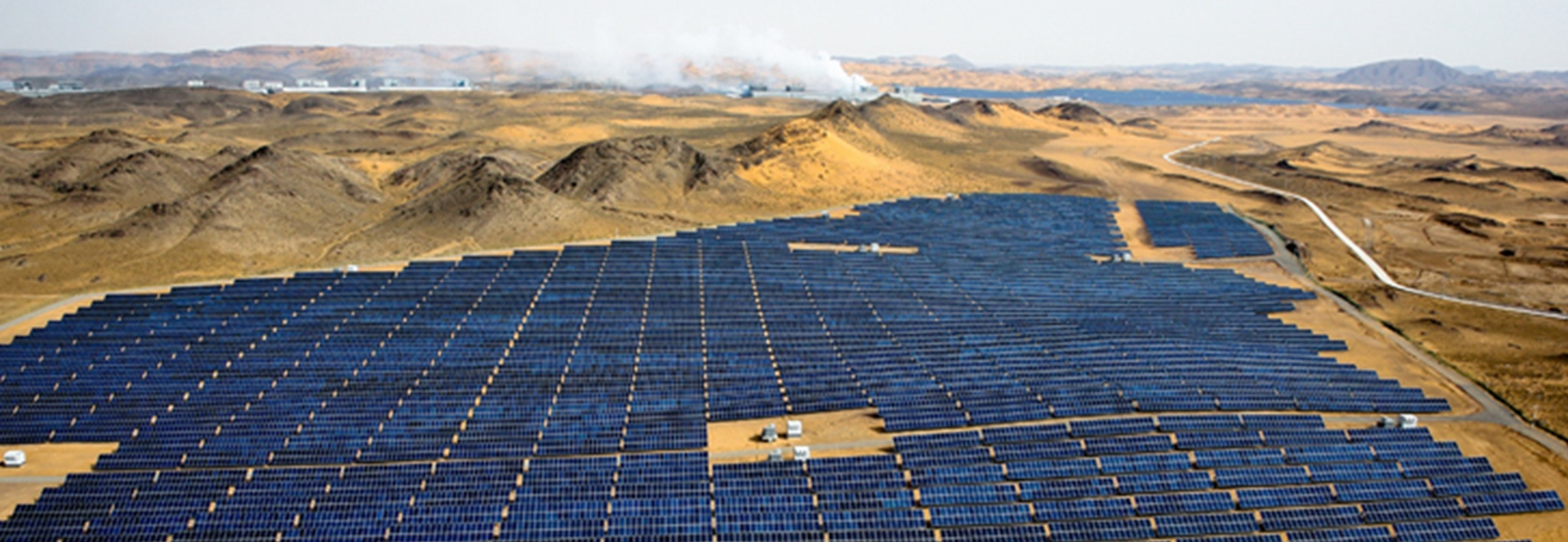 Clenergy 30MW PV Power Plant in Ningxia China