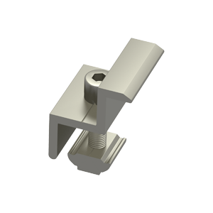 LS Module End Clamp, with W Module ER-EC-W40