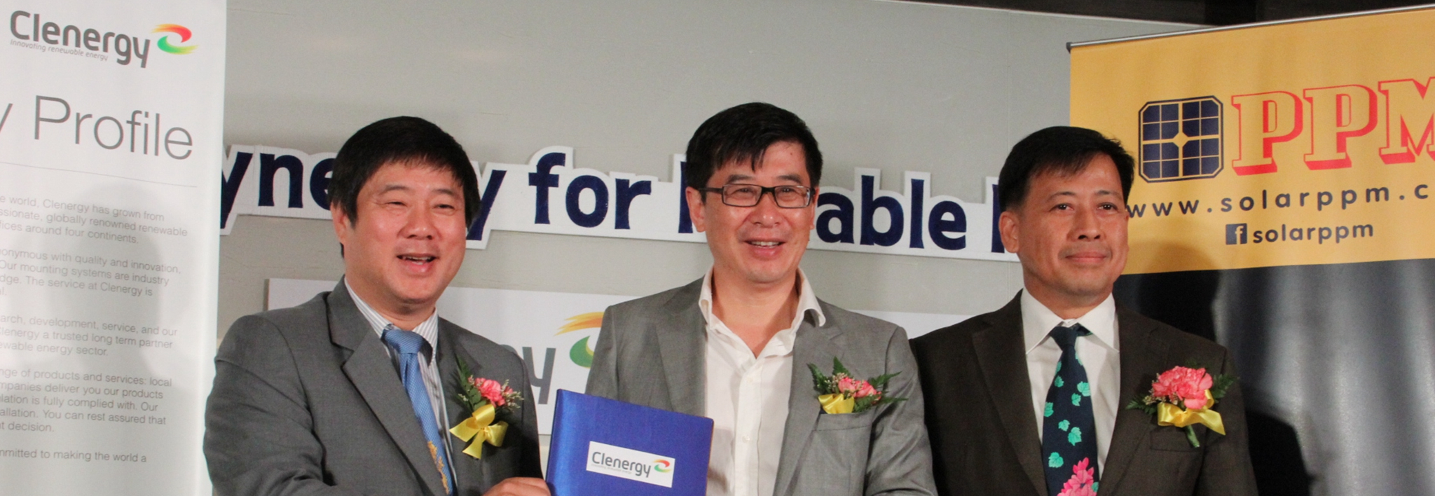 Clenergy PV Seminar in Bangkok with Solar PPM and Huawei