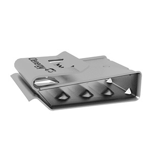 Universal Cable Clip for PV Panels for Holding 4 Cables EZ-CC-PV/4